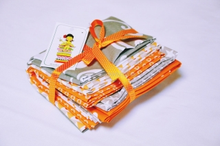 FQ 6pcs Orange